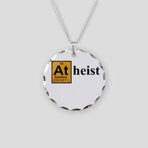 [At]heist Necklace Circle Charm